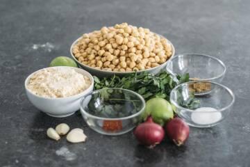 3 Arten Falafel einfach zuhause zu machen: Zutaten für Falafel