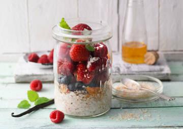 5 am Tag: Porridge
