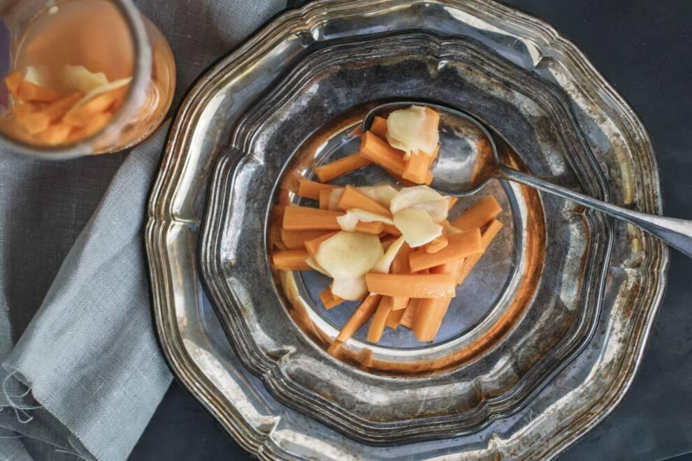 Anleitung Fermentieren: Ingwer Karotten 1