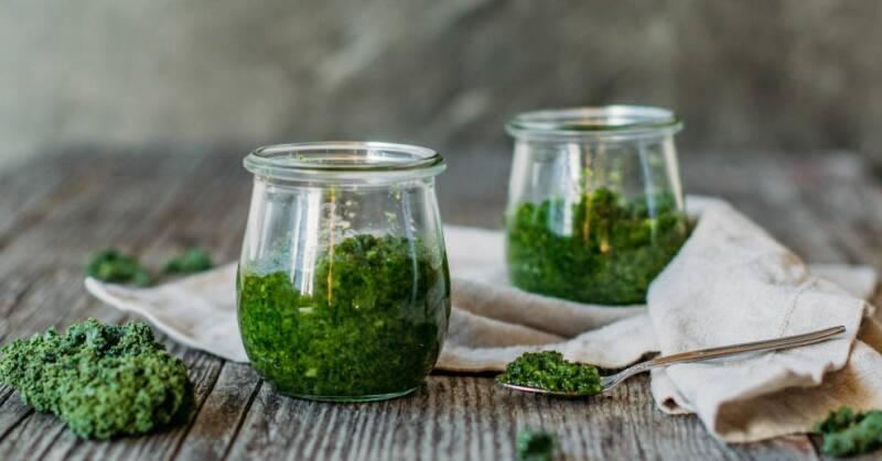 Antioxidantien: Grühkohl-Pesto