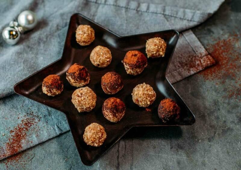 Backen mit Kokosöl: Zuckerfreie Marzipankartoffeln