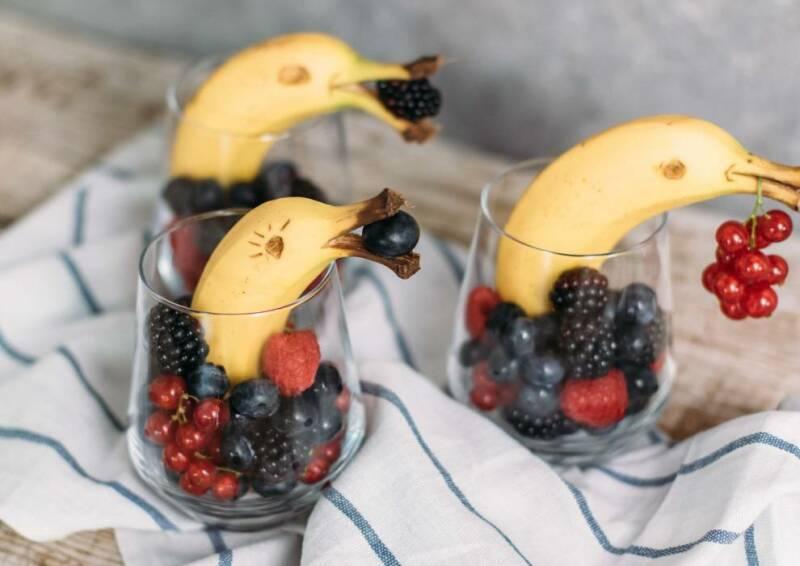 Bananen Delfine
