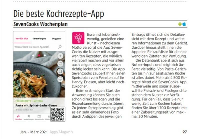 Beste App Apps Magazin