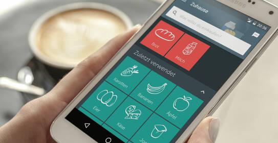 Bring App! auf dem Smartphone