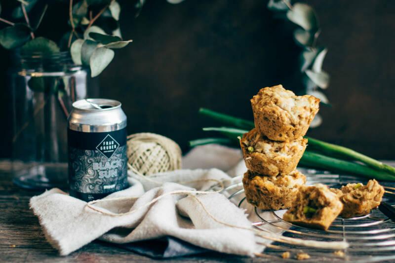 Cheddar Bear Bread Muffins