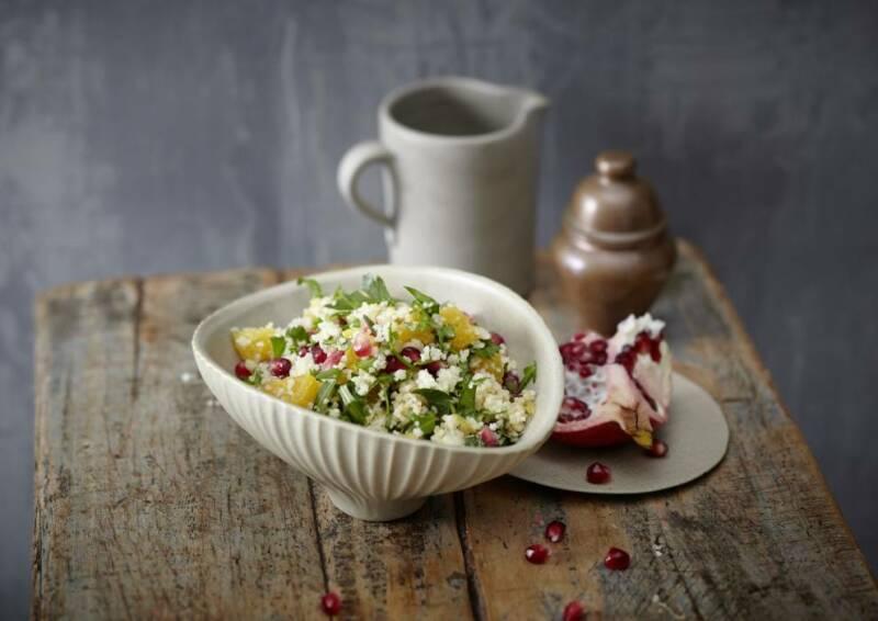 Couscous-Salat mit Granatapfel