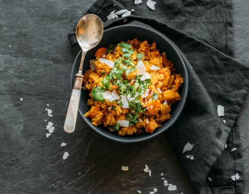 Curry mit Steckrübe
