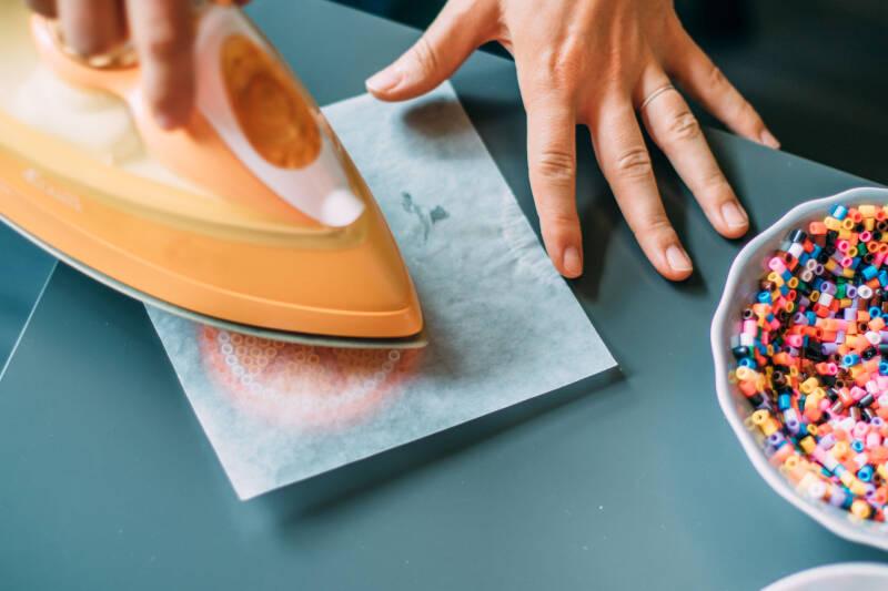 DIY Bügelperlen Schritt 2