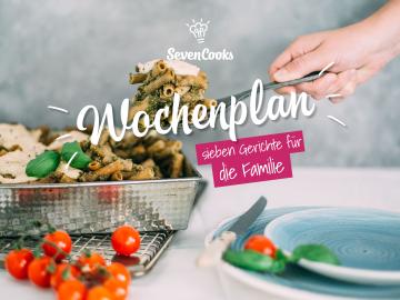 Durch das Jahr mit SevenCooks 2017:  Wochenplan Familiengerichte