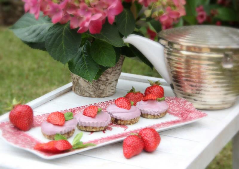 Erdbeer-Eis-Törtchen