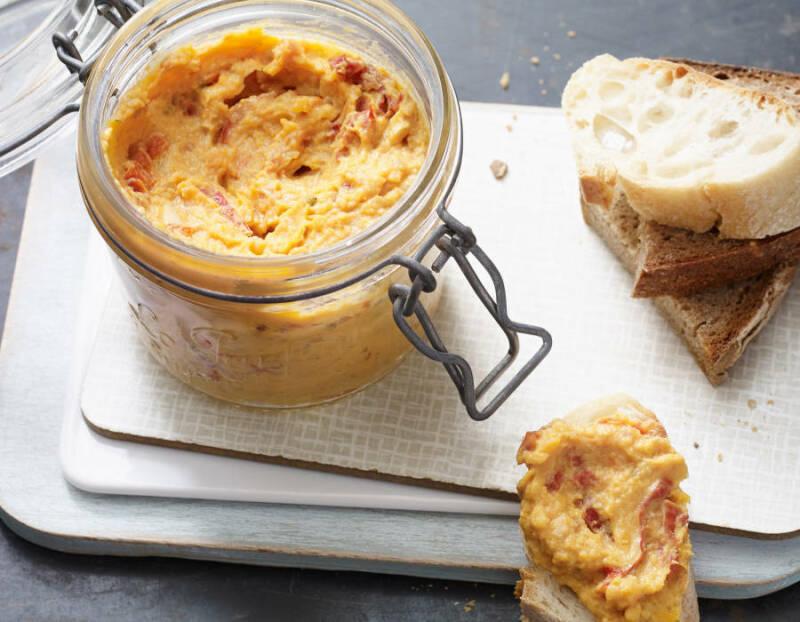 Erdnuss-Süßkartoffel-Aufstrich