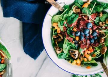 Essen an heißen Tagen: Salat