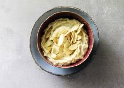 Feigen-Joghurt-Creme mit Mandeln