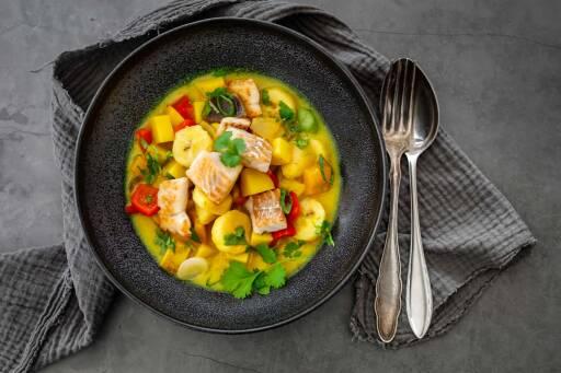 Flexitarisch Rezept: Fisch-Curry 1