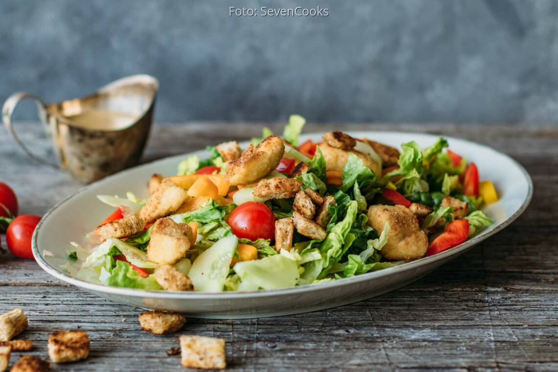 Flexitarisches Rezept: Caesar Salad_1
