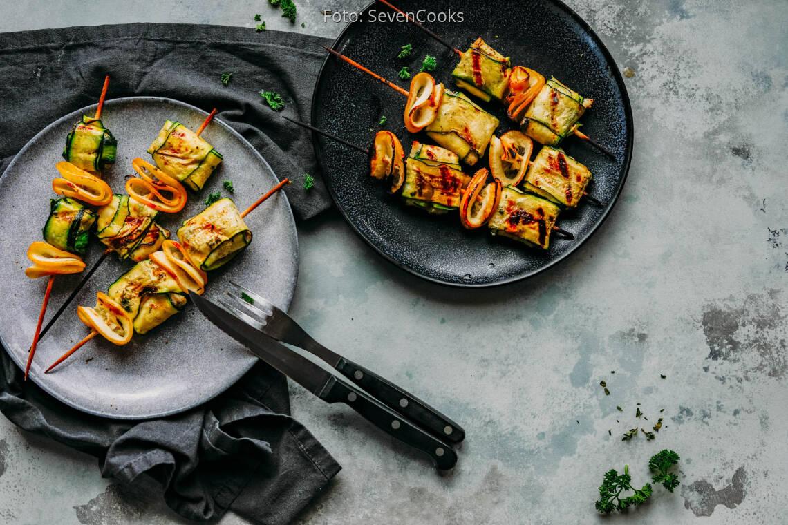 Flexitarisches Rezept: Fisch-Zucchini-Päckchen