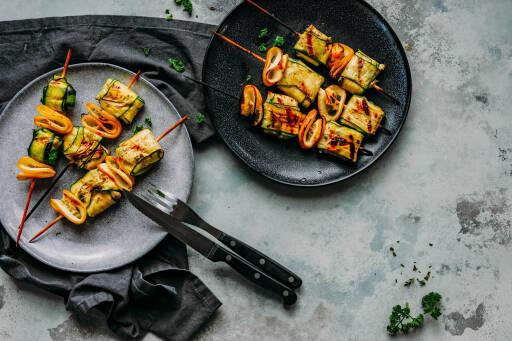 Fisch-Zucchini-Päckchen