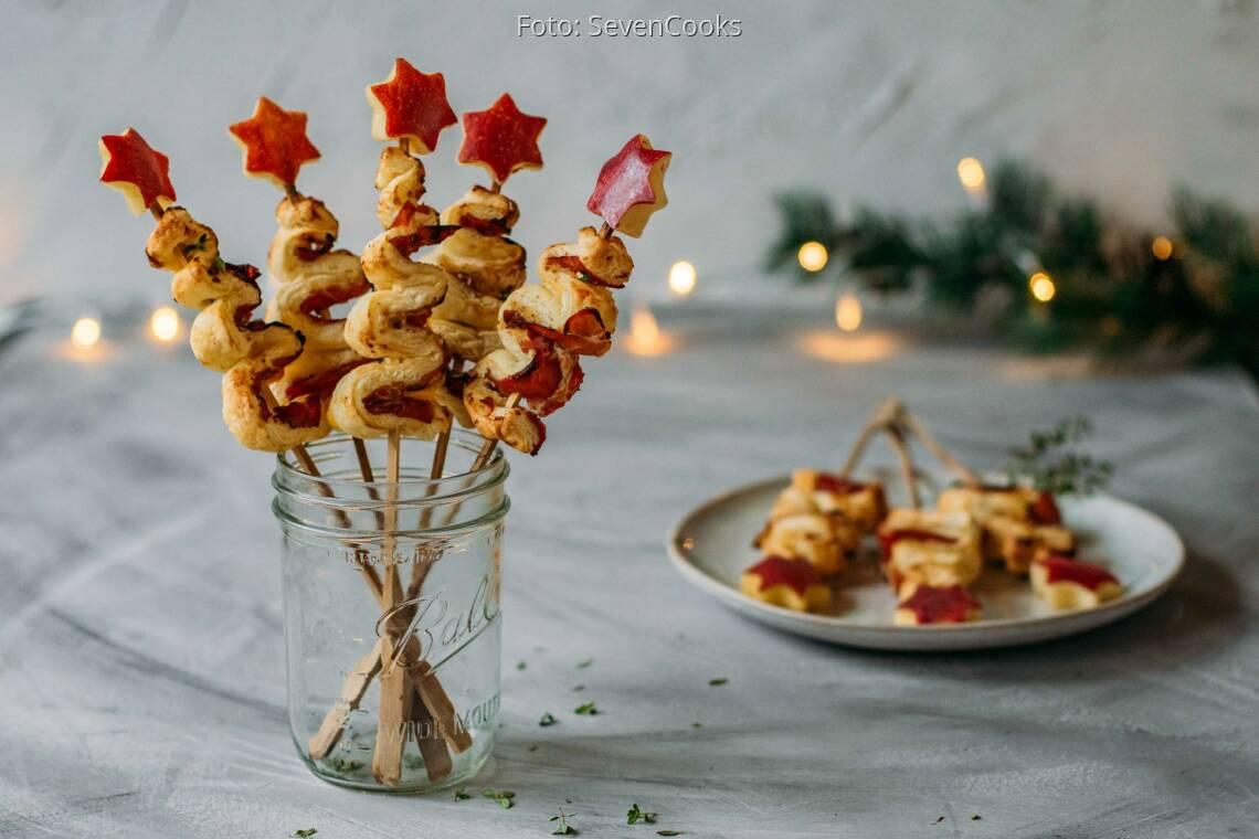 Flexitarisches Rezept: Herzhafte Weihnachtsbäume 1