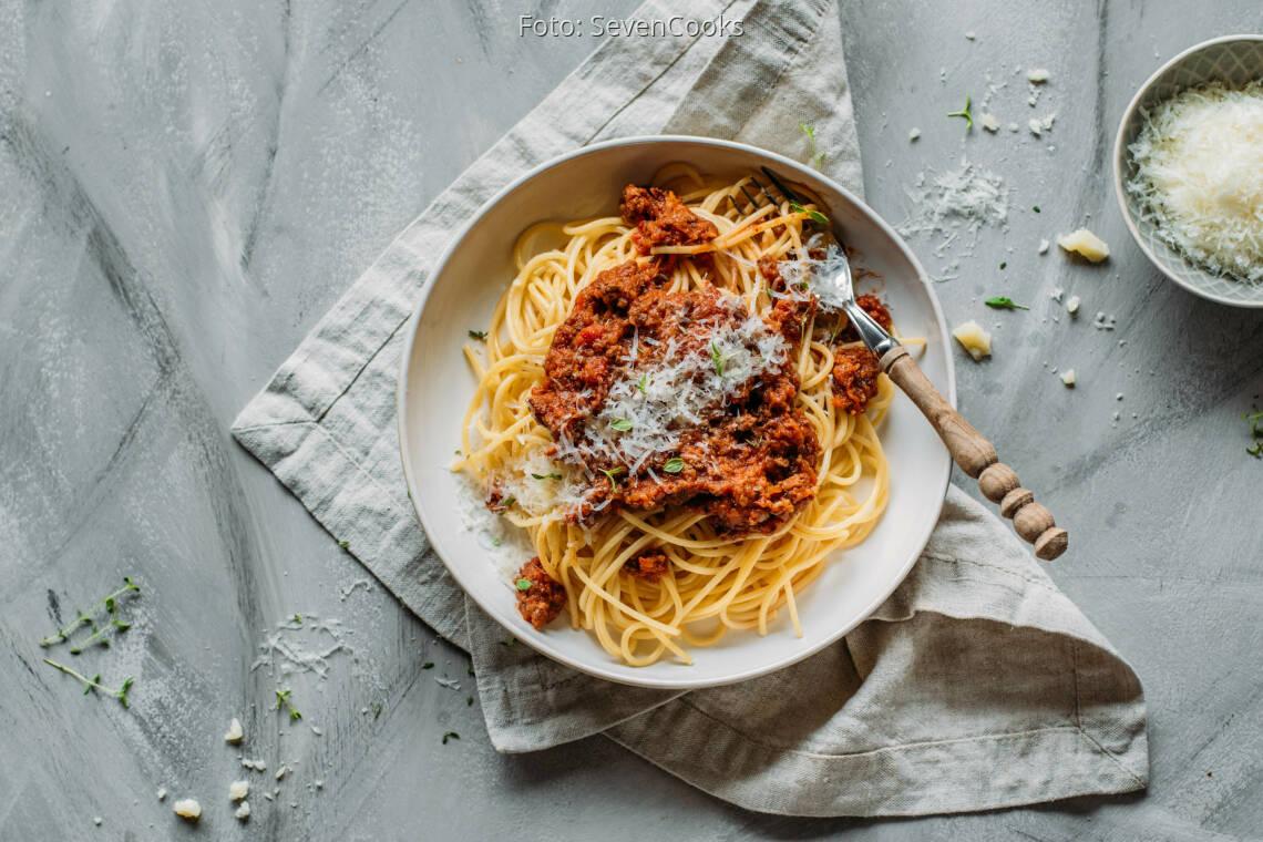 Flexitarisches Rezept: Spaghetti Bolognese 1