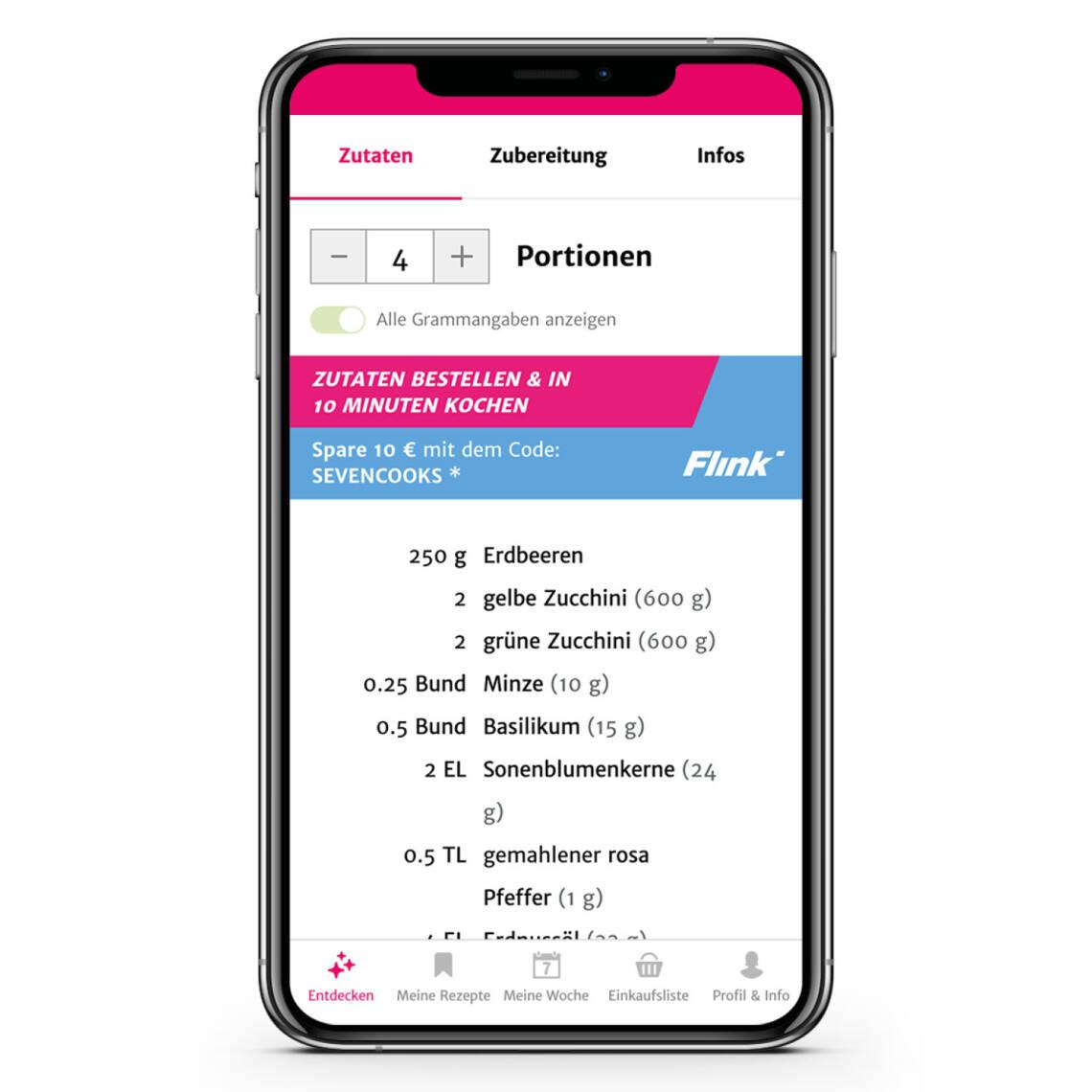 Diese App liefert dir fehlende Zutaten in 10 Minuten an die Haustür
