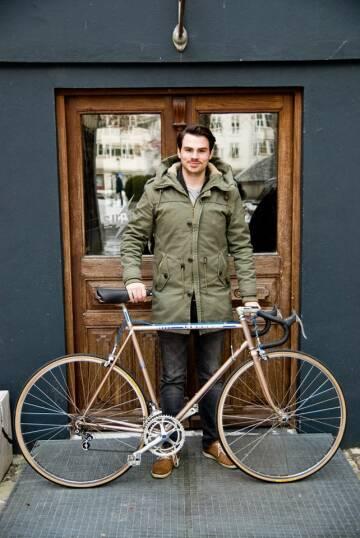 Flo mit Fahrrad