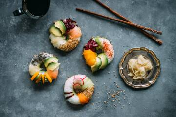 Food Trend Sushi Donut