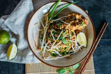 Fried Rice mit stir fried Tofu