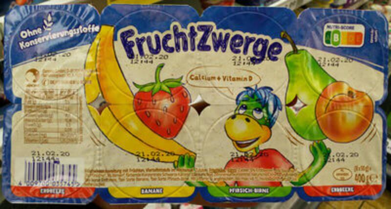 Fruchtzwerge mit Nutri-Score