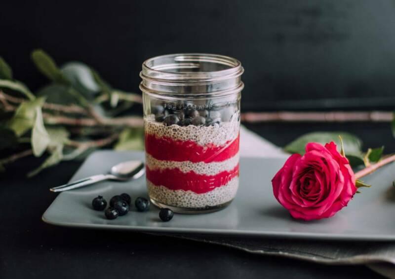 Frühstücksalternative: Chia Pudding