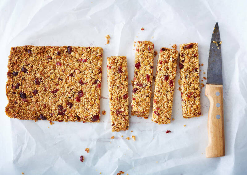 Frühstücksalternative: Müsliriegel