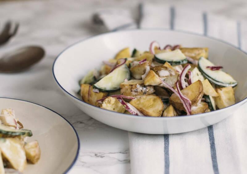 gebackener Kartoffelsalat