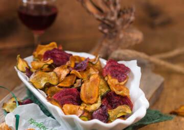 Gesunde Snacks: Gemüsechips