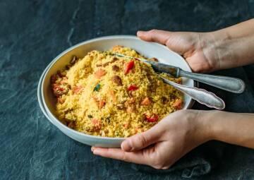 Glutenfreier Couscous-Salat
