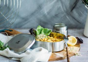 glutenfreier orientalischer Couscous Salat