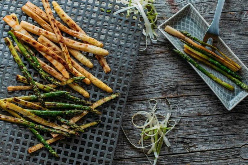 Grill Spargel