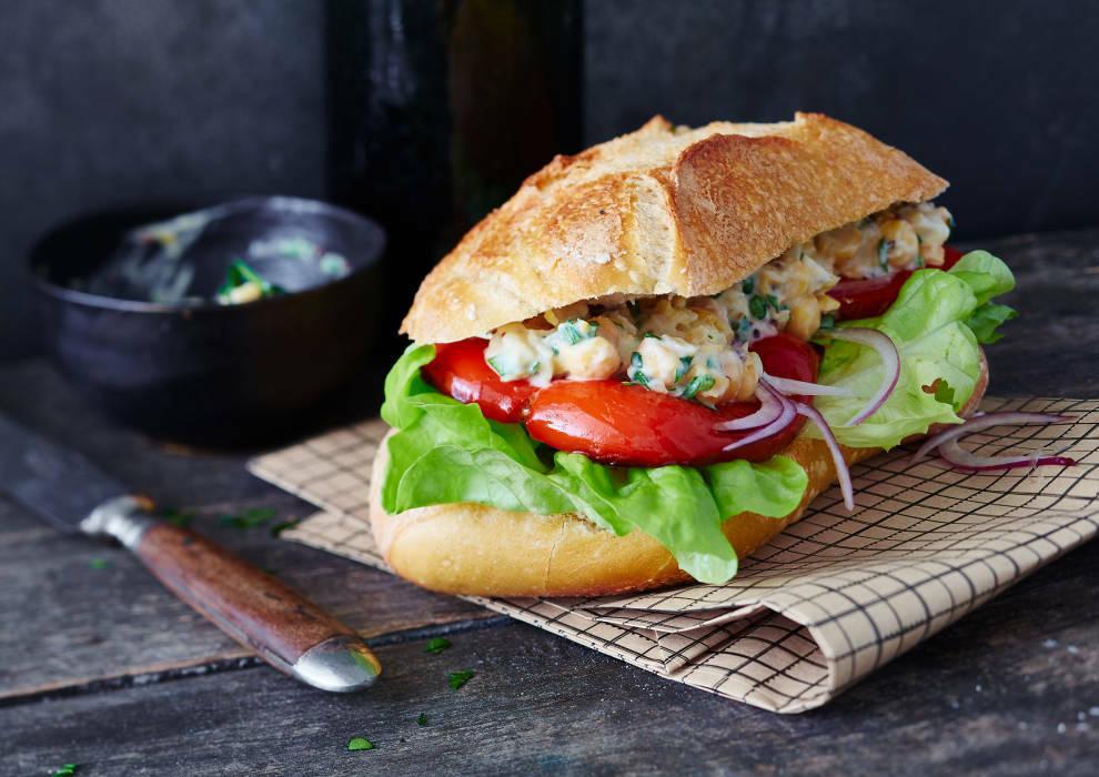 Grillpaprika Sandwich