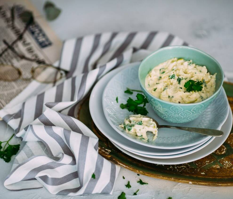 Grillsaucen und Dips: apfel aioli