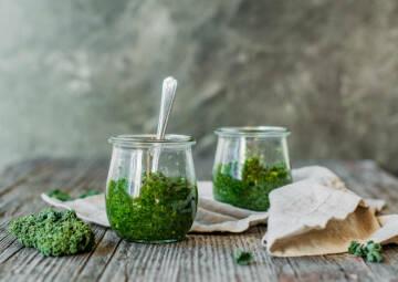 Grünkohl-Pesto