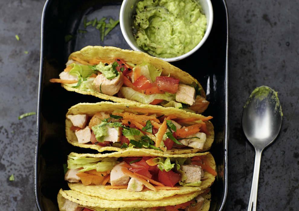 Hähnchen Tacos