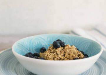 Heidelbeer-Porridge