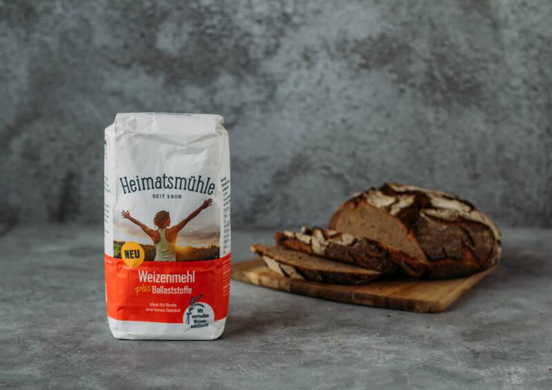 Heimatsmühle Weizenmehl plus Ballaststoffe
