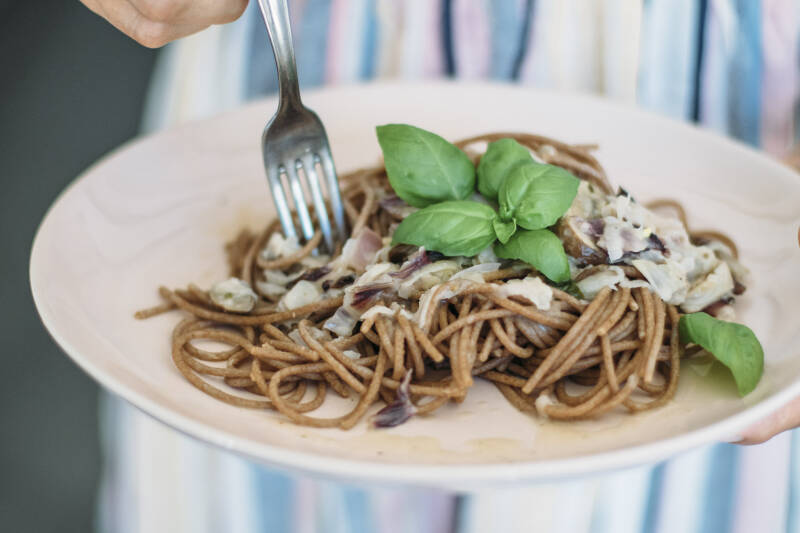 Heißhunger: Vollkornspaghetti