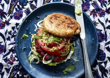 hey SevenCooks: Rote Bete Burger