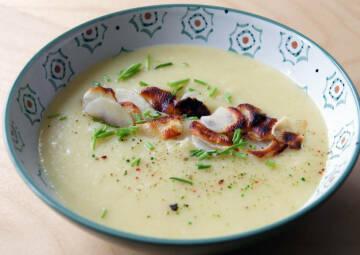 Hieße Suppenliebe: Kartoffelsuppe