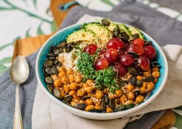 High Protein Frühstücksbowl