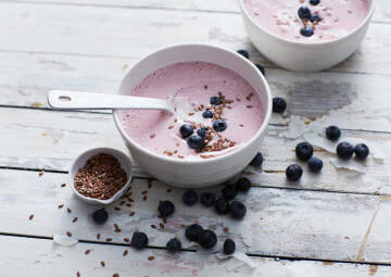 Himbeer-Smoothie-Bowl