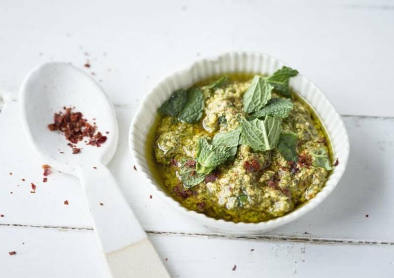 Ingwer-Minze-Pesto