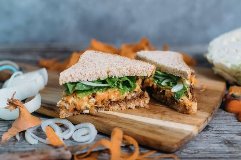 Jackfruit Sandwich