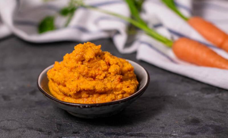 Karotten-Kichererbsen-Dip