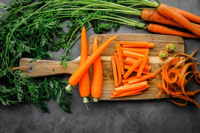 Karottenpommes selber machen